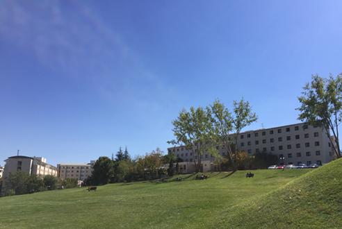 Dormitories in Bilkent